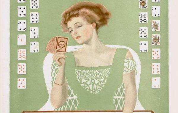 mujer cartas