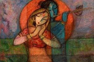 pareja hindú