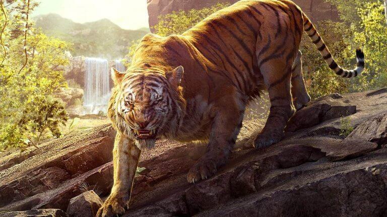 Tigre en la selva