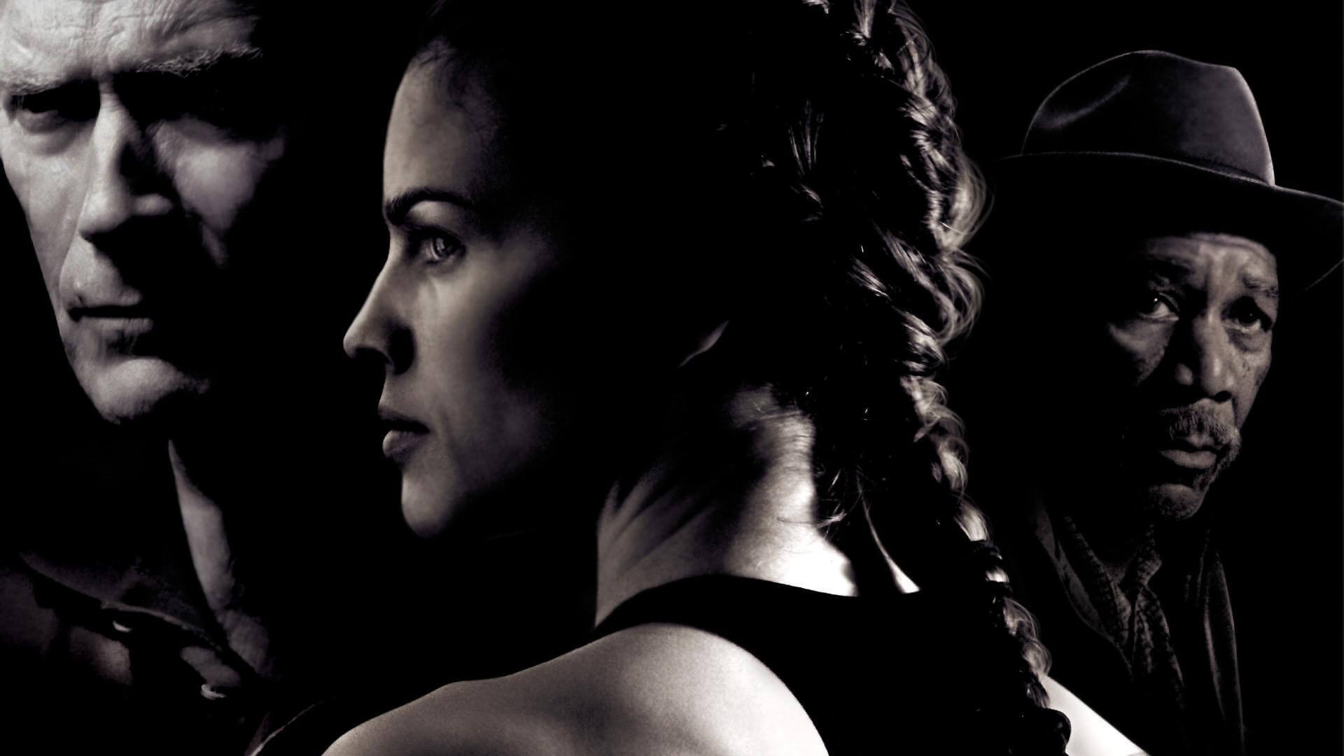 Cartel de la película million dollar baby
