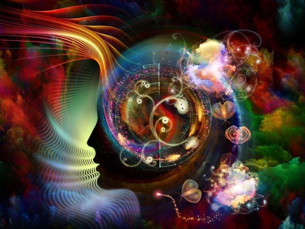 Cerebro que muestra la química del amor