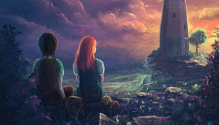 amigos mirando paisaje