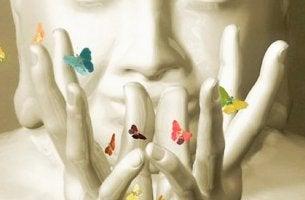 Buda con mariposas cuentos budistas