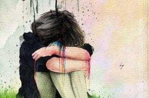 Chica que ha llorado