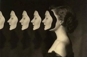 mujer máscaras