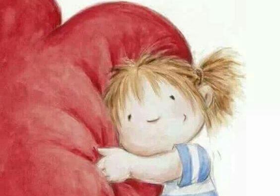 El corazón necesita vitaminas A, B, C: Abrazos, Bondad y Cariño