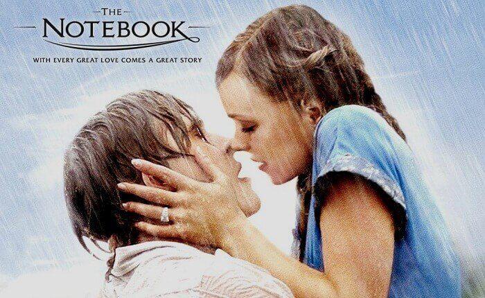 cartel dela película Notebook