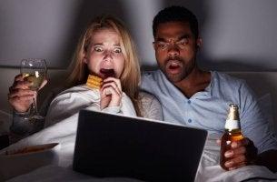 Las películas de miedo