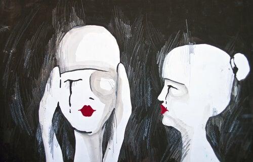 Dos personas tristes