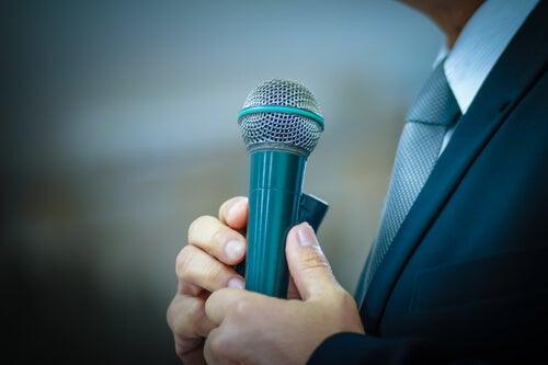 La glosofobia o el miedo a hablar en público