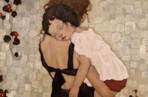 madre con niña