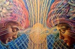 Mujeres representando la conciencia