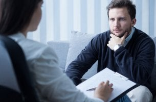 Paciente con psicóloga