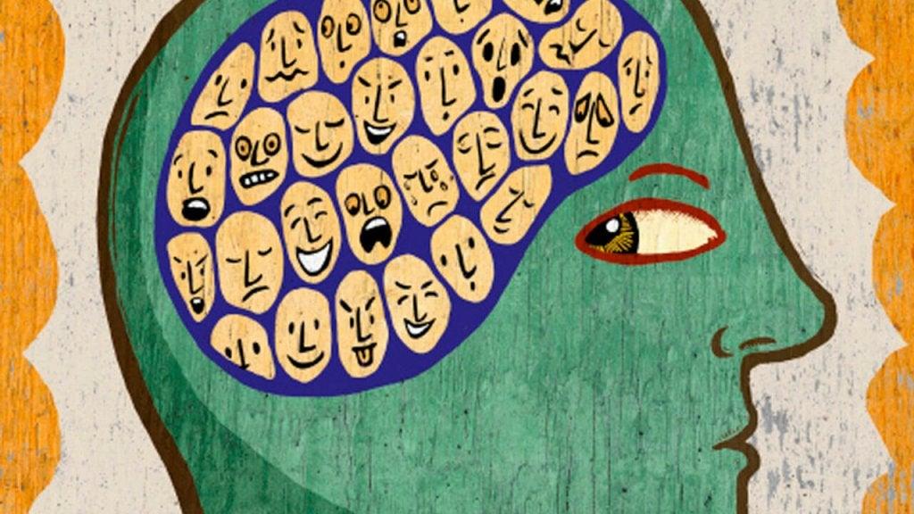 Caras en el cerebro Inteligencia Emocional