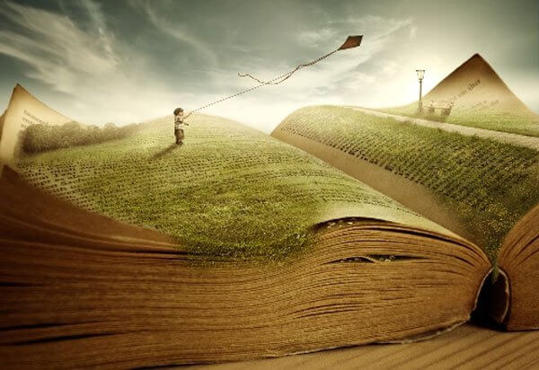 ilustración de libro de psicología