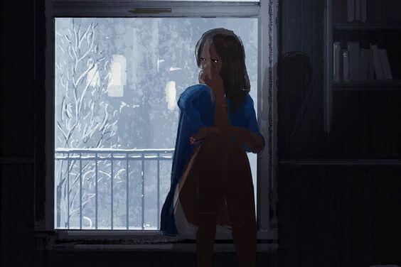 Resultado de imagen para mujer frente a una ventana