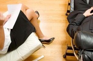 Consulta de un psicoterapeuta