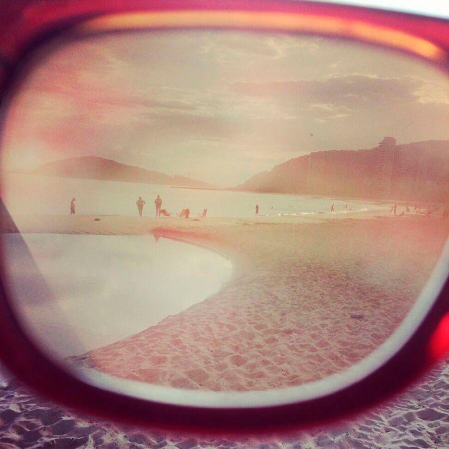 Gafas rosa