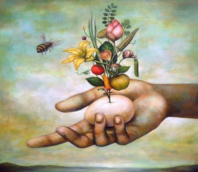 abeja-flores