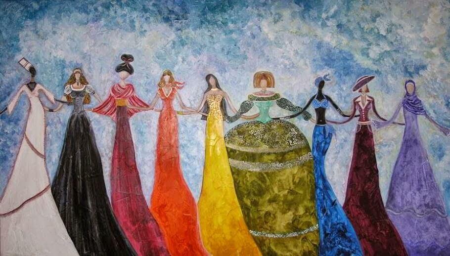 mujer linaje