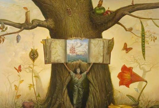 arbol libro y el arte de quedarse callado