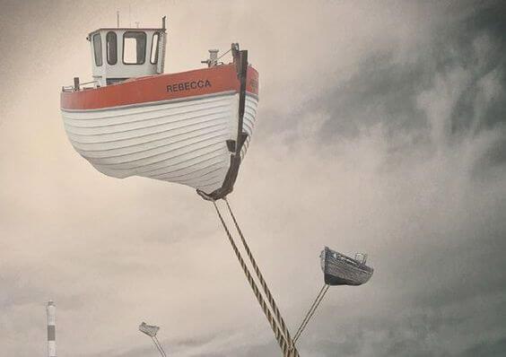 barco al que le cuesta arrancar