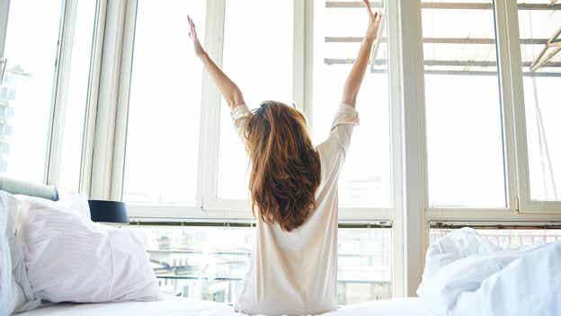 Me gusta aprovechar cada mañana porque es un nuevo comienzo