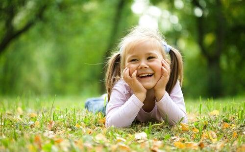 Los beneficios de la naturaleza para los niños