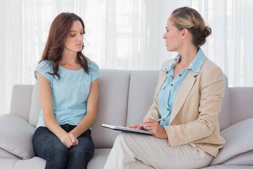 Psicologa con paciente