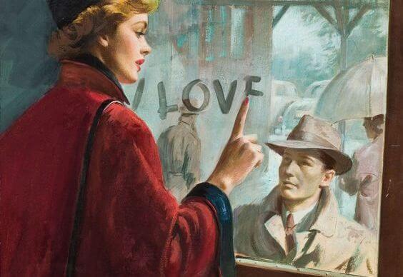 """Un """"te quiero"""" en un portal, un """"adiós"""" en un aeropuerto"""