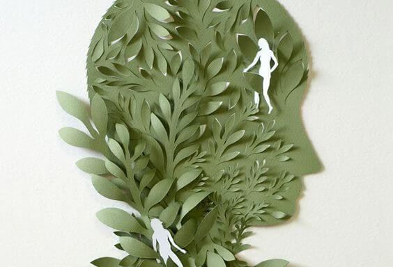 leaf face
