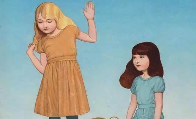niñas jugando con confianza