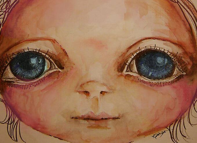 Ojos de niño por Karin Taylor