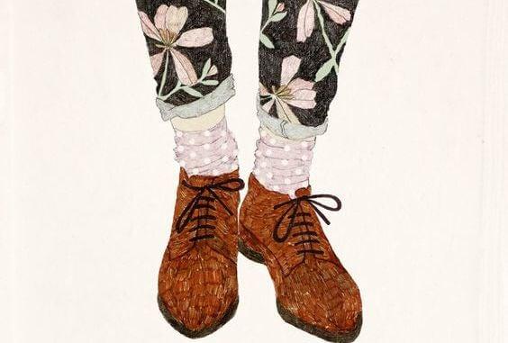 zapatos representando el iniciar algo nuevo