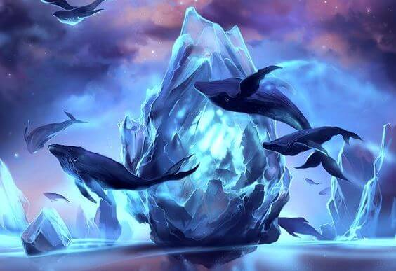 ballenas en su historia