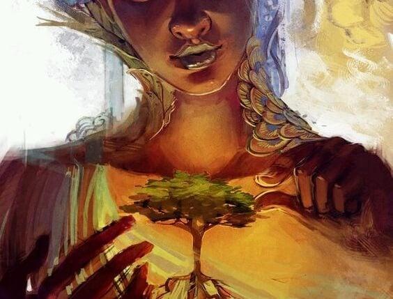 mujer árbol prioridades