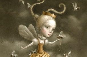 nina-con-abejas