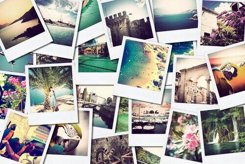 Fotos con recuerdos positivos