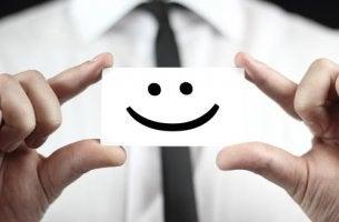 Dibujo de una carita sonriendo