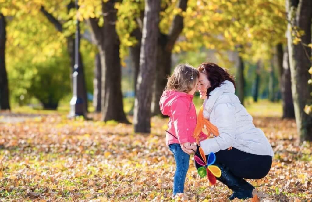 MAdre con hija que está pasando de la fase subconsciente