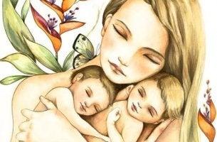 madre e hijas