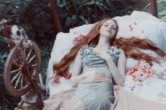 Bella durmiente que tiene que despertar