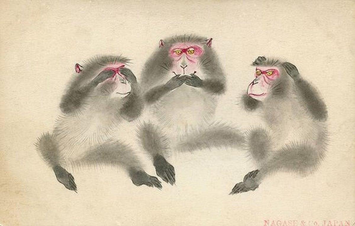La Enseñanza De Los Tres Monos Sabios Del Santuario De Toshogu