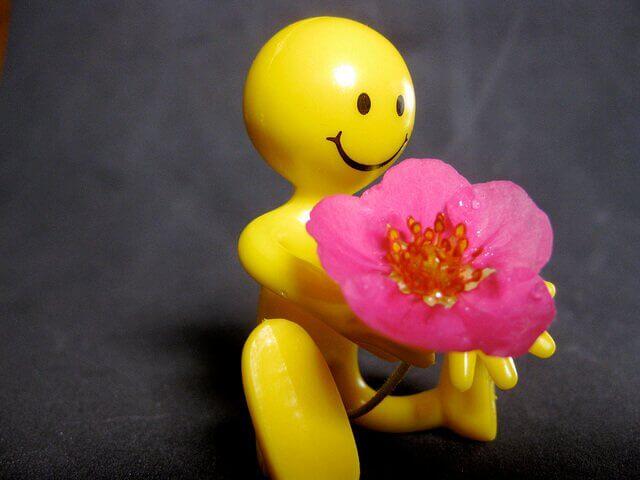 Muñeco feliz