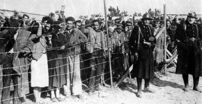 Refugiados españoles