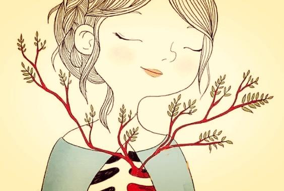 chica feliz por hacer crecer su empatía