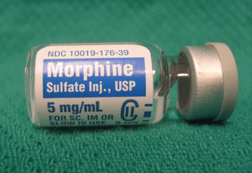 Opiáceos: morfina