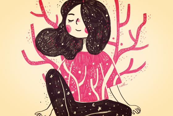 mujer fortaleciendo su autoestima