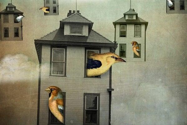 Pájaros representando el narcisismo colectivo