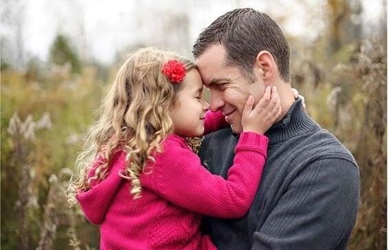 Padre e hija con complejo de Electra